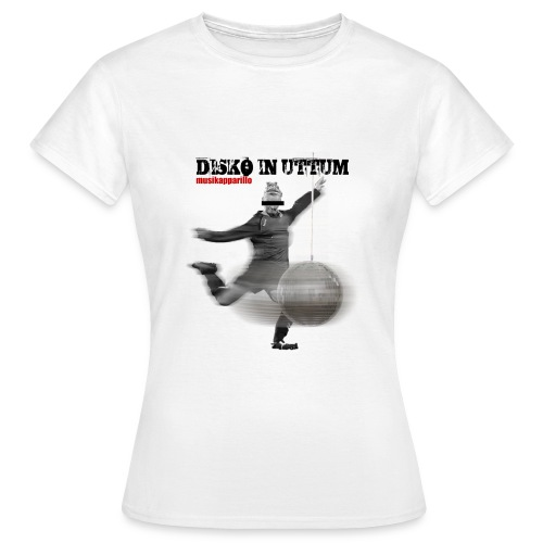 Disko in Uttum Frauen Shirt - Frauen T-Shirt