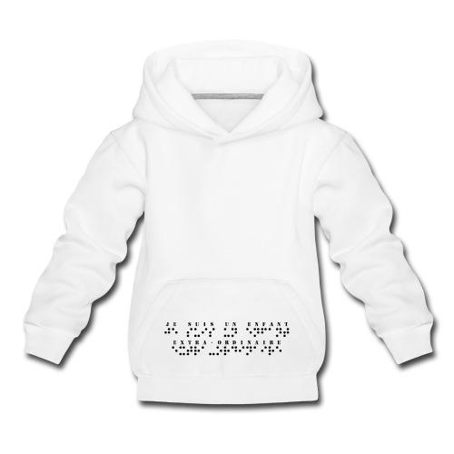 Sweat enfant - Pull à capuche Premium Enfant