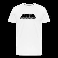 T-Shirts ~ Men's Premium T-Shirt ~ T-Shirt men, Black Bar