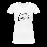 T-Shirts ~ Women's Premium T-Shirt ~ T-Shirt women, Black 3D