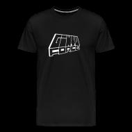 T-Shirts ~ Men's Premium T-Shirt ~ T-Shirt men, White 3D