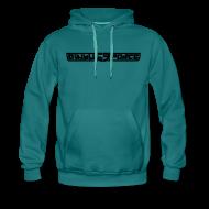 Hoodies & Sweatshirts ~ Men's Premium Hoodie ~ Hoodie men, Black Stroke
