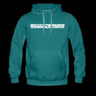 Hoodies & Sweatshirts ~ Men's Premium Hoodie ~ Hoodie men, White Stroke