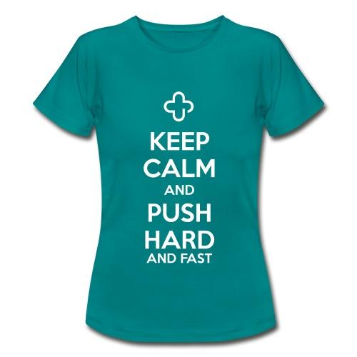 Keep Calm - Frauen T-Shirt
