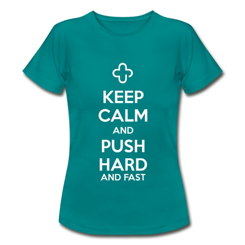 Keep Calm - Frauen T-Shirt