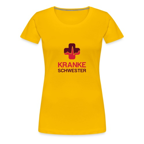 Kranke-Schwester - Frauen Premium T-Shirt