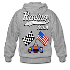 Racing Team 04 - Men's Premium Hooded Jacket