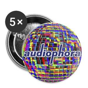 Grand badge Audiophora - Badge grand 56 mm
