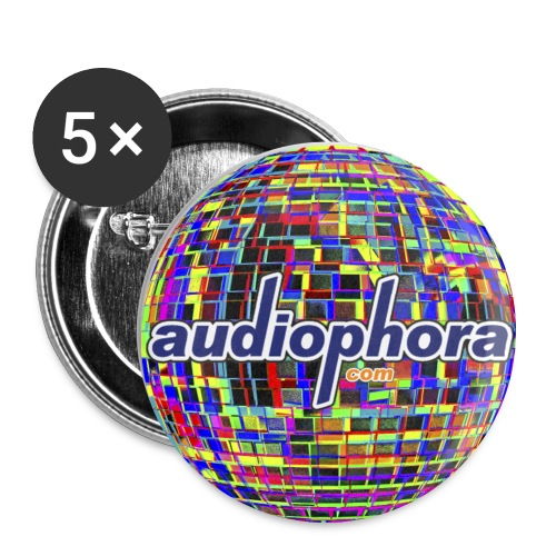 Grand badge Audiophora - Badge grand 56 mm
