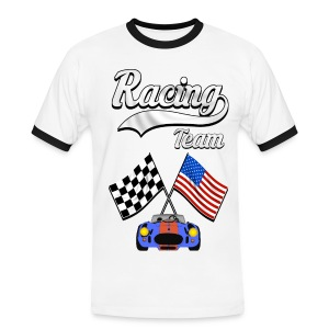 Racing Team 04 - Men's Ringer Shirt