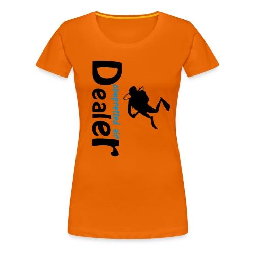 compressed air dealer - Frauen Premium T-Shirt