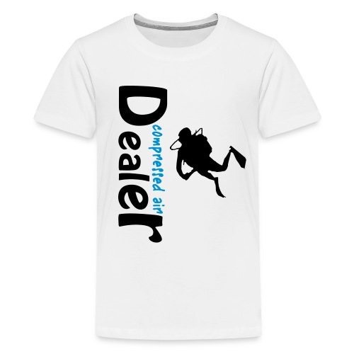 compressed air dealer - Teenager Premium T-Shirt