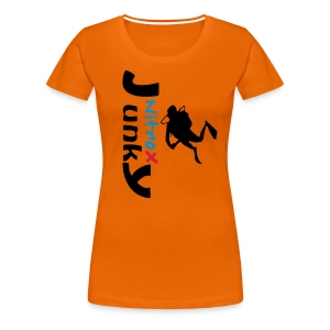 Nitrox Junky - Frauen Premium T-Shirt