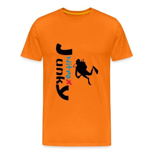 Nitrox Junky - Männer Premium T-Shirt