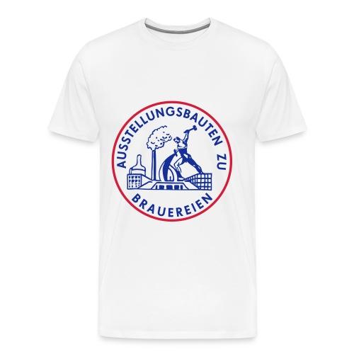 Ausstellungsbauten zu Brauereien - Männer Premium T-Shirt