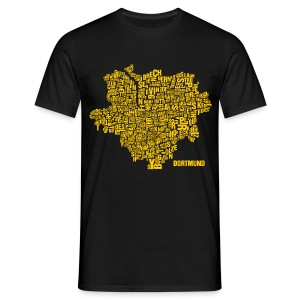 Dortmund Shirt Black - Male - Männer T-Shirt