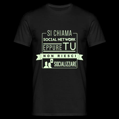 Social Network Maglietta da uomo glow in the dark - Maglietta da uomo