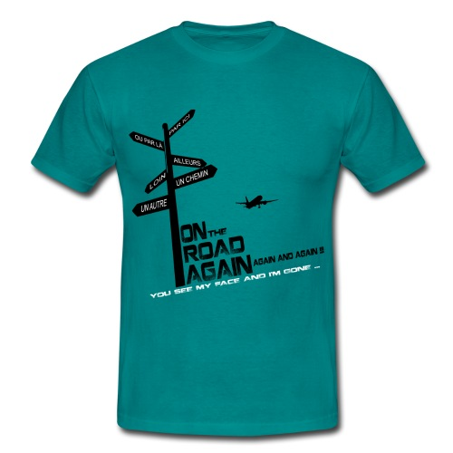 Tee-shirt MAN On the road again EDITION LIMITEE - T-shirt Homme