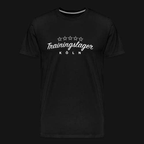 Trainingslager Shirt Men (schwarz) - Männer Premium T-Shirt