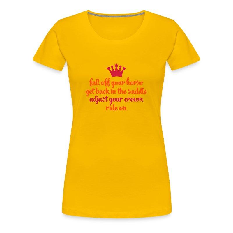 und wenn schon - Frauen Premium T-Shirt