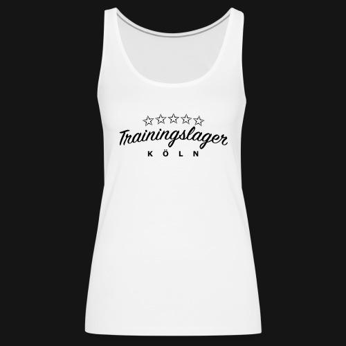 Trainingslager Tank Top Women (weiss) - Frauen Premium Tank Top