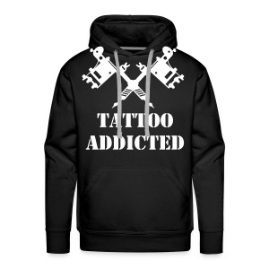 TATTOO ADDICTED - Männer Premium Hoodie