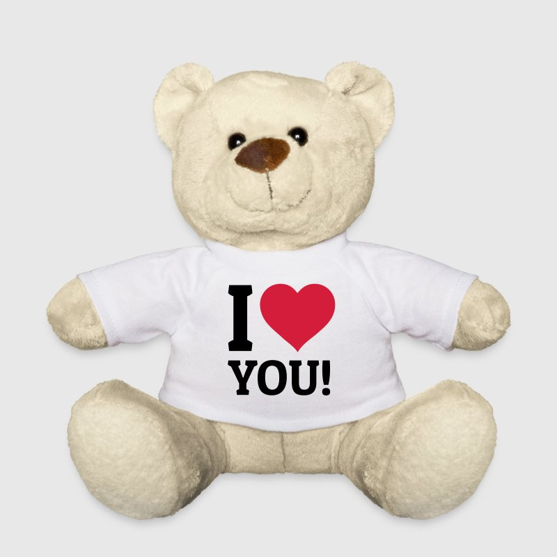 I love you je t'aime Peluches - Nounours
