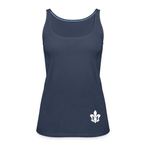 Tank Top Lilie, navy - Frauen Premium Tank Top