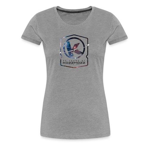 20 Years of Kozzmozz - Women's Premium T-Shirt