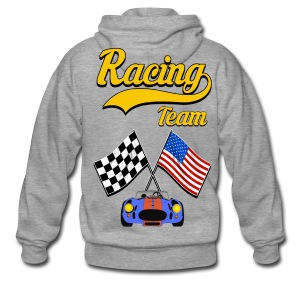 Racing Team - Men's Premium Hooded Jacket