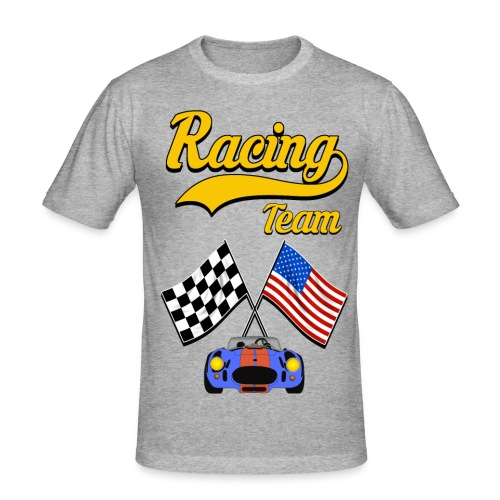 Racing Team - Men's Slim Fit T-Shirt