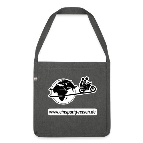 Einspurig-Reisen Umhängetasche - Schultertasche aus Recycling-Material
