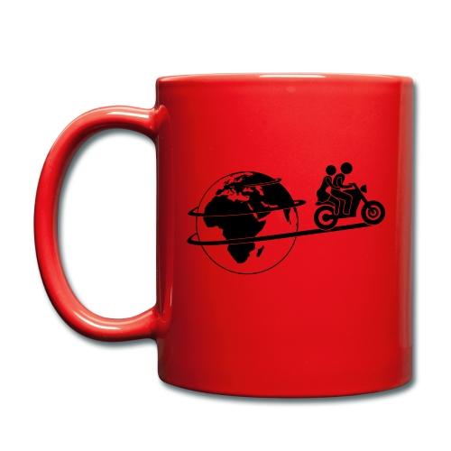 Einspurig-Reisen Tasse - Tasse einfarbig
