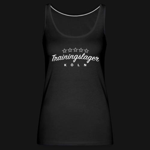Trainingslager Top Women (schwarz) - Frauen Premium Tank Top