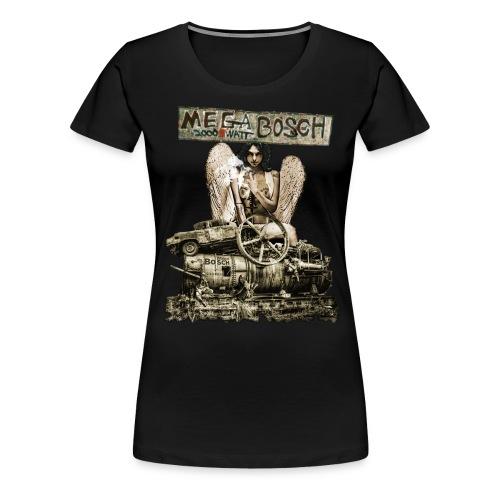 Girlie-Shirt Megabosch GSMB01 - Frauen Premium T-Shirt