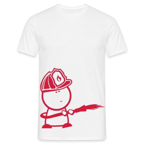 Retter-Firefighter-Nerd - Männer T-Shirt