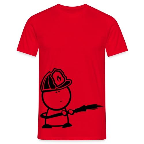 Retter-Feuerwehr-Nerd AKTION - Männer T-Shirt
