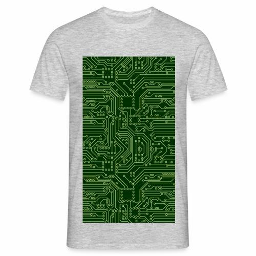Platine-grün - Männer T-Shirt