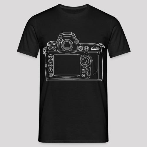 Fotoshirt Kamerabody - Männer T-Shirt