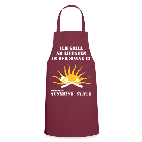 Grillschürze für Florida Fans - Kochschürze
