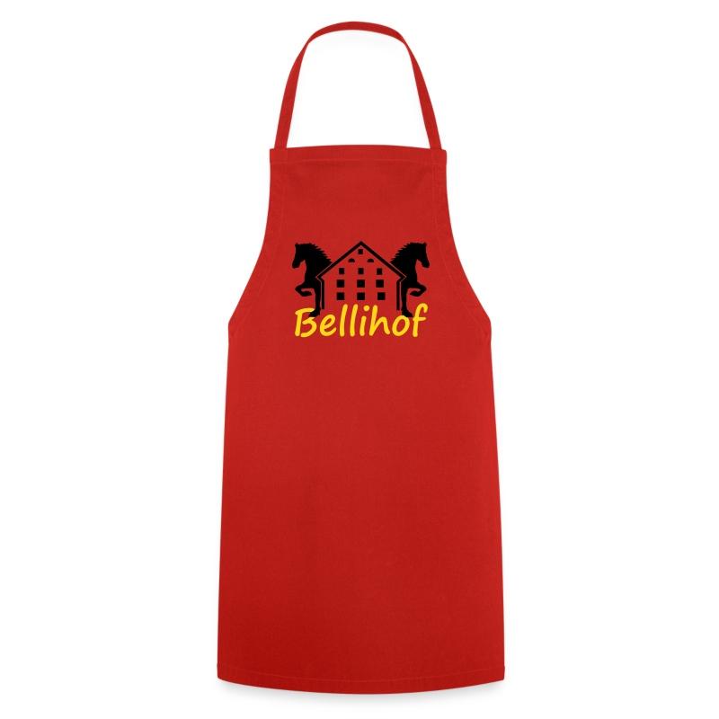 Bellihof Schürze rot - Kochschürze
