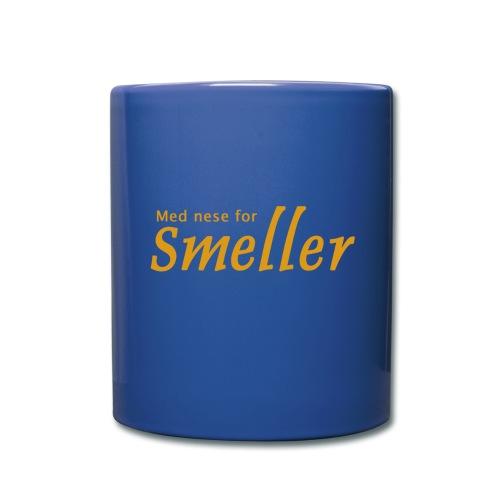 Kopp - Med nese for Smeller - Ensfarget kopp