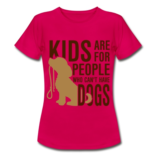 Camiseta Kids are... - Camiseta mujer