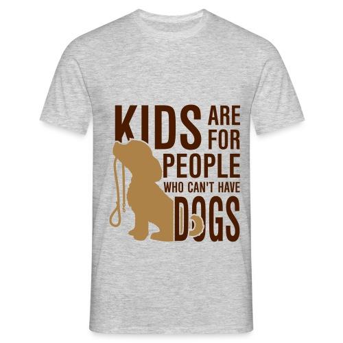 Camiseta Kids are... - Camiseta hombre