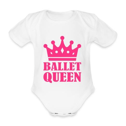 Ballet Queen onesie - Organic Short-sleeved Baby Bodysuit