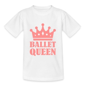Ballet Queen Girl top - Kids' T-Shirt