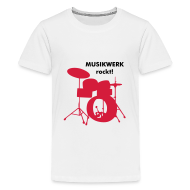 T-Shirts ~ Teenager Premium T-Shirt ~ Kids T-Shirt Drums