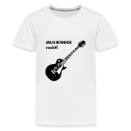 T-Shirts ~ Teenager Premium T-Shirt ~ Kids T-Shirt Gitarre