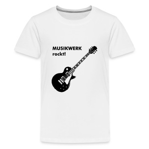 Kids T-Shirt Gitarre - Teenager Premium T-Shirt