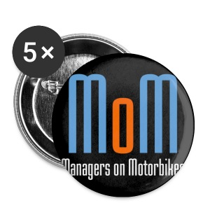 MoM Button 5_Pack - Buttons klein 25 mm
